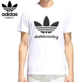 【在庫処分】ADIDAS アディダス エスビー Tシャツ CLIMA3.0 TEE 18SS WHT CW2347 スケートボーディング ウェアー