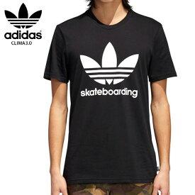 【在庫処分】ADIDAS アディダス エスビー Tシャツ CLIMA3.0 TEE 18SS BLK CW2347 スケートボーディング ウェアー