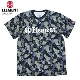 【在庫処分】ELEMENT エレメント キッズ Tシャツ HORIZONTAL SS ELITE BOY NVY 130〜160cm AH025301 17SS SKATE スケーター