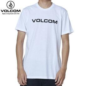 VOLCOM ボルコム メンズ Tシャツ APAC CRISP EURO S/S TEE WHITE 【クエストン】