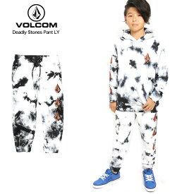 VOLCOM ボルコム キッズ スウェットパンツ Deadly Stones Pant LY NBK 【クエストン】