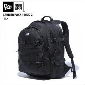 NEW ERA newera ニューエラ リュック バックパック キャリアパックCARRIER PACK 1680D 2 BLK バッグ カバン