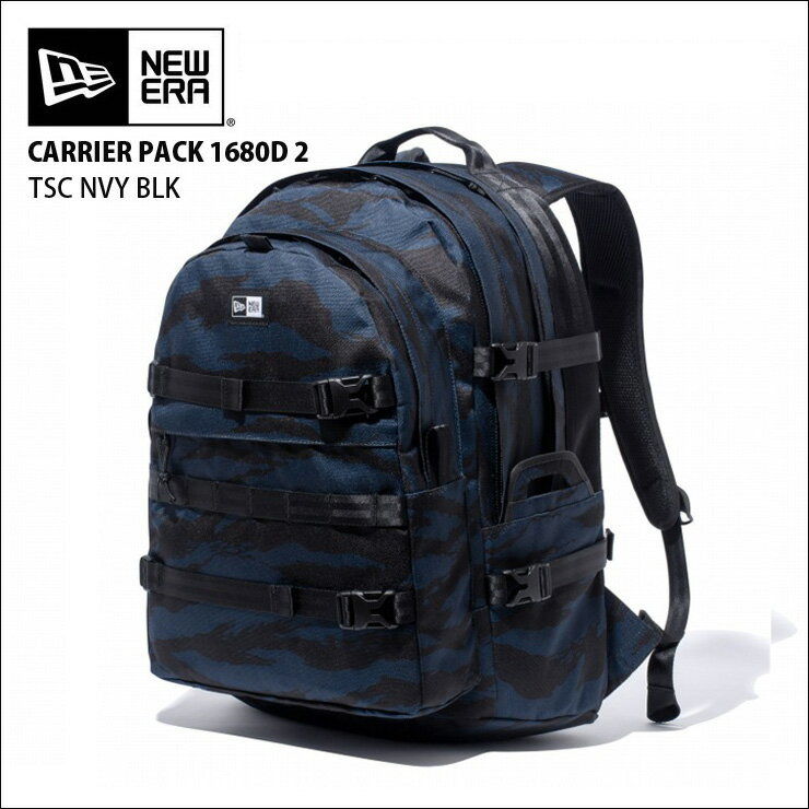 NEW ERA newera ニューエラ リュック バックパック キャリアパック CARRIER PACK 900D 2 TSC OLIVE BLK バッグ カバン