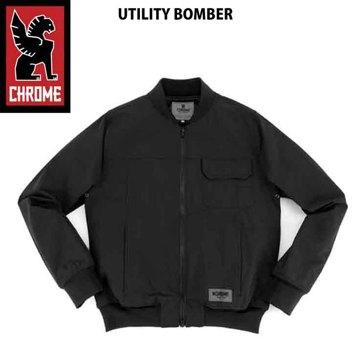 CHROME クローム メンズ UTILITY BOMBER BLK ジャケット アウター 17FW SALE