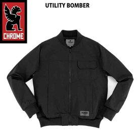 【在庫処分】CHROME クローム メンズ UTILITY BOMBER BLK ジャケット アウター 17FW SALE