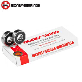 BONES/ボーンズ スケボー スケートボード ベアリング SWISS PWB-002
