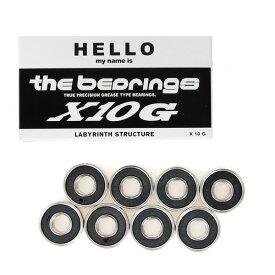 スケボー スケートボード ベアリング HELLO ハロー THE BEARING ザ ベアリング X10 GREASE TYPE GLB007【クエストン】