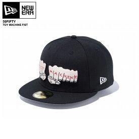 NEW ERA newera cap ニューエラ キャップ 59FIFTY 59FIFTY トイマシーン フィスト ブラック SKATE CAP