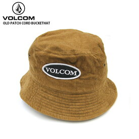 VOLCOM ボルコム メンズ キャップ OLD PATCH CORD BUCKETHAT KHK 帽子 【クエストン】