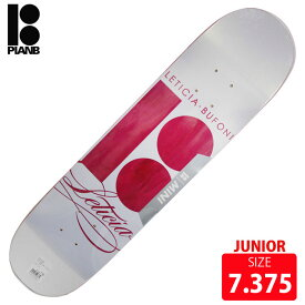PLAN B プランビー デッキ SCRIPT LETICIA BUFONI ジュニア DECK 7.375 PBD-396 スケートボード skateboard
