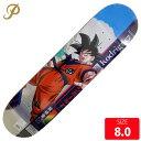 PRIMITIVE プリミティブ デッキ GOKU PAUL RODRIGUEZ DECK 8.0 スケートボード skateboard スケボー