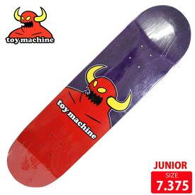 スケボー キッズサイズ デッキ トイマシーン TOYMACHIN MONSTER MINI PURPLE DECK 7.375 スケートボード skateboard 【クエストン】