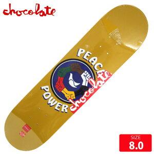 スケボー デッキ チョコレート CHOCOLATE PEACE POWER ANDERSON DECK 8.0 スケートボード SK8【クエストン】
