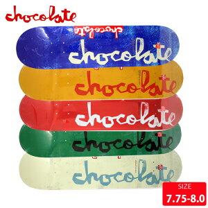 スケボー デッキ チョコレート CHOCOLATE CHUNK DECK 7.75 7.875 8.0 スケートボード SK8【クエストン】