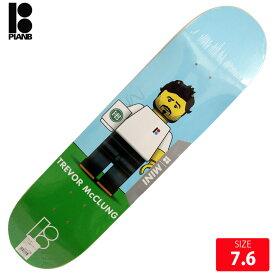 PLAN B プランビー デッキ BLOCKHEAD MINI TREVOR McCRUNK DECK 7.6 スケートボード skateboard