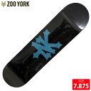 ZOOYORK ズーヨーク デッキ METROPOL IS SUBWAY DECK 7.875 SKATEBOARD スケートボード スケボーデッキ