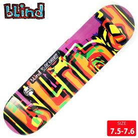 BLIND ブラインド デッキ Glitch-Purple 7.5-7.6 SKATEBOARD スケートボード スケボーデッキ