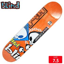 BLIND ブラインド デッキ Random Placement Orange 7.5 SKATEBOARD スケートボード スケボーデッキ