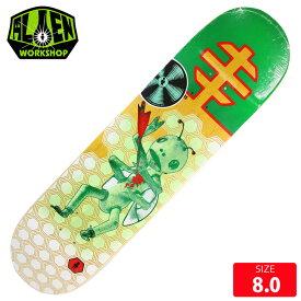 ALIEN WORKSHOP エイリアン ワークショップ デッキ SPEARS BUG OUT HALFTONE DECK 8.0 スケボー スケートボード スケートボード【クエストン】