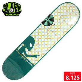 ALIEN WORKSHOP エイリアン ワークショップ デッキ GUEVARA ASTRAL GREEN DECK 8.125 スケボー スケートボード スケートボード【クエストン】