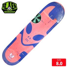 ALIEN WORKSHOP エイリアン ワークショップ デッキ EXP BLUE DECK 8.0 スケボー スケートボード スケートボード【クエストン】