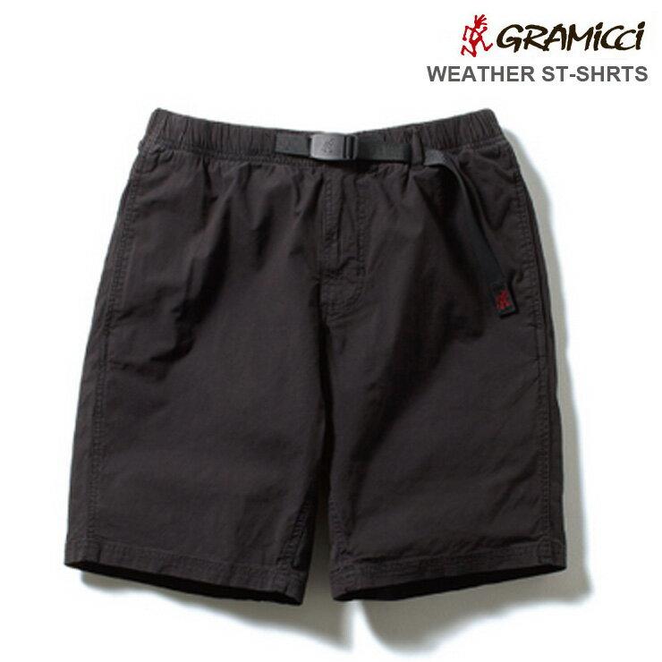 Gramicci グラミチ ショート パンツ WEATHER STD SHORTS BLACK スタンダード 18SS モデル
