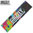 スケボー デッキテープ GRIZZLY グリズリー OIL SLICK GRIPTAPE MULTI グリップテープ スケートボード【クエストン】