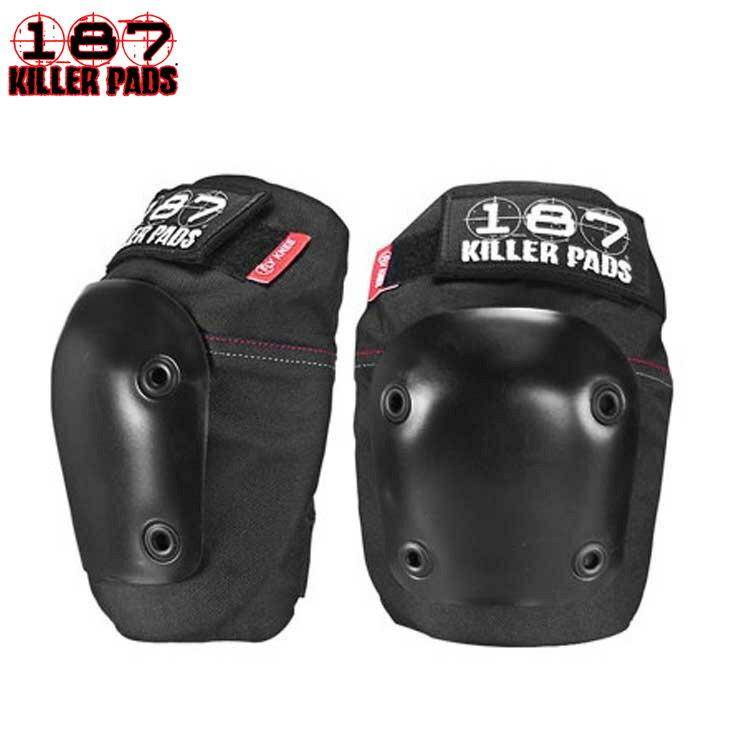 187 KILLER メンズプロテクター FLY KNEE PADS BLACK/BLACK 防具 スケートボード スケボー