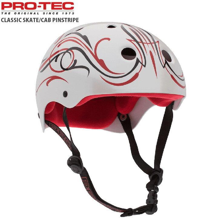 PROTEC プロテック ヘルメット CLASSIC SKAT CAB PINSTRIPE キャバレロ HELMET プロテクター スケートボード インライン用