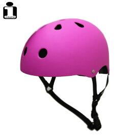 INDUSTRIAL インダストリアル ヘルメット PURPLE スケボー スケートボード インライン用 プロテクター 【クエストン】