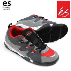 es エス スケート スニーカー シンボル SYMBOL GREY/RED スケシュー 20新色