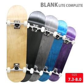 ブランクデッキ スケボー コンプリート BLANK LITE COMP DECK 7.375-8.0 インチ スケートボード 完成品 子供から大人までサイズ豊富【クエストン】