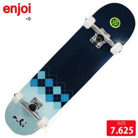 スケボー コンプリート エンジョイ ENJOI Argyle COMPLETE 7.625 スケートボード 完成品【クエストン】