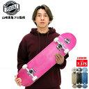 YUKIデザイン ジュニア オリジナル コンプリート DECK 7.375-7.5インチ 完成品 スケートボードS プロスケートボーダー…