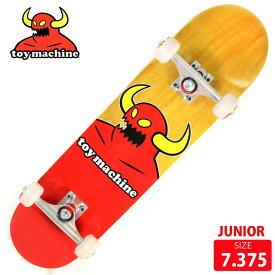 【お買い得】TOYMACHINE トイマシーン ジュニア コンプリート MONSTER MINI DECK 7.375 スケボー スケートボード 完成品 【クエストン】