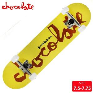 スケボー コンプリート チョコレート CHOCOLATE CHUNK ANDERSON COMPLETE DECK サイズ 7.5 7.75 完成品 組立て済 スケートボード