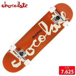 スケボー コンプリート チョコレート CHOCOLATE CHUNK PEREZ COMPLETE DECK サイズ 7.625 完成品 組立て済 スケートボード
