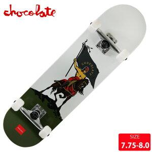 スケボー コンプリート チョコレート CHOCOLATE ALVAREZ LUCHARD COMPLETE DECK サイズ 7.75 8.0 完成品 組立て済 スケートボード 【クエストン】