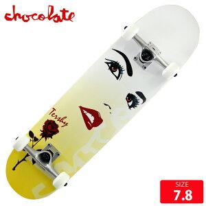 スケボー コンプリート チョコレート CHOCOLATE RAVEN TERSHY COMPLETE DECK サイズ 7.8 完成品 組立て済 スケートボード 【クエストン】
