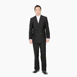 【レンタル】ポイント3倍★ベーシックダブル7点セット[男性用][喪服レンタル][礼服レンタル][フォーマルレンタル][スーツレンタル][喪服メンズ][礼服メンズ][大きいサイズ][セット][葬儀][結婚式][翌日配送][送料無料][FOL-1200-F]