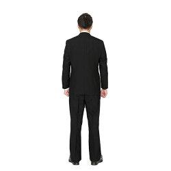 【レンタル】ポイント3倍★ベーシックダブル3点セット[男性用][喪服レンタル][礼服レンタル][フォーマルレンタル][スーツレンタル][喪服メンズ][礼服メンズ][大きいサイズ][セット][葬儀][結婚式][翌日配送][送料無料][FOL-1200]