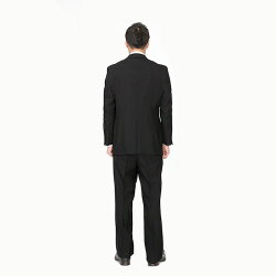 【レンタル】イベント開催中★大きいサイズベーシックシングル7点セット[男性用][喪服レンタル][礼服レンタル][スーツレンタル][喪服メンズ][礼服メンズ][シングルタイプ][セット][葬儀][結婚式][翌日配送][送料無料][FOL-822-F]