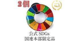【正規販売店】 【国連本部限定販売】 SDGs ピンバッジ 日本未発売 UNDP 丸みタイプ 2個 バッチ 国連 おすすめ 正規品 sdgs 17 目標 公式 安心保証