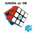 GAN356 air SM GANCUBE 3x3x3 磁石 滑らか ルービックキューブ 収納袋付き SUPERSPEED 競技向け MAGNET Black