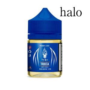 halo Premium E-Liquid TRIBECA お徳用 60ml ヘイロー プレミアムイーリキッド トライベッカキャラメルとナッツの香りをほのかに感じるタバコフレーバー電子タバコ リキッド