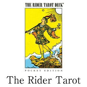 \正規販売店/ タロットカード 基本のカード ポケットサイズ タロット カード ライダー The Rider Tarot Deck Pocket 占い ウェイト waite おすすめ