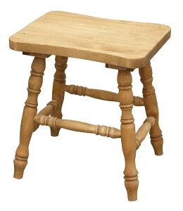 送料無料 パイン材 スツール 無垢材 木製 ナチュラル カントリー 北欧 腰掛け こしかけ キッチン 玄関 リビング 花台 踏み台 いす 椅子 イス おしゃれ かわいい