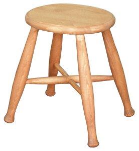 送料無料 パイン材 スツール 無垢材 木製 ナチュラル カントリー 北欧 丸椅子 丸 円型 腰掛け こしかけ キッチン 玄関 リビング 花台 踏み台 いす 椅子 イス おしゃれ かわいい