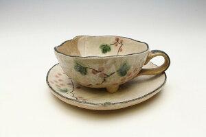 蔦ぶどう コーヒー碗皿