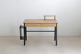 パソコンデスク 幅100cm オフィスデスク 事務机 PCデスク 学習机 学習デスク ワークデスク 学習机 勉強机 木製 つくえ 引き出し 収納 北欧 ナチュラル モダン おしゃれ